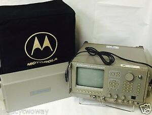 Motorola R2550az hs Communications Analyzer Test Equipment