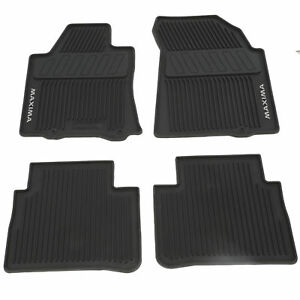 2016 2018 Nissan Maxima All Season All Weather Rubber Floor Mats Genuine Oem New