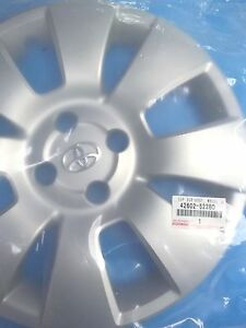 Genuine Toyota Yaris Hatchback Wheel Cover Hub Cap 42602 52280