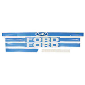 F5610b New Tractor Hood Decal Made To Fit Ford New Holland Tractor 5610