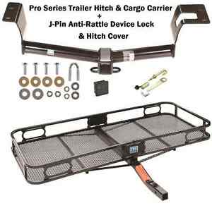 Trailer Tow Hitch Cargo Basket Carrier Fits 12 16 Honda Crv Silent Hitch Pin