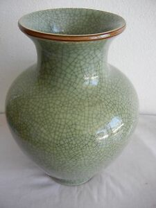 Chinese Crackleware Jar