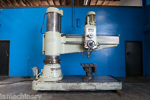 Ooya Radial Arm Drill 6 5 X 19 Metal Drilling Hole Making Machine