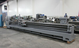 27 36 Swing X 240 Center Geminis Engine Lathe Metal Turning And Machining
