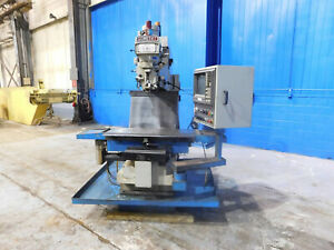 30 x20 x20 Travels Comet 3 Axis Cnc Vertical Metal Milling Machine 5 Hp