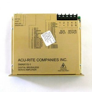 Acu rite Anilam Sma9115 1 Digital Brushless Servo Amplifier