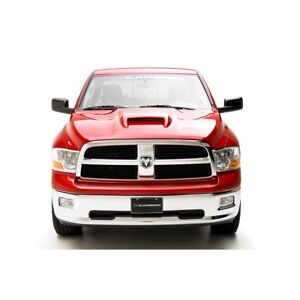 09 14 Dodge Ram 3dcarbon Urethane Srt Ram Air Style Hood Scoop Unpainted 691322