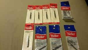 Weller Soldering Tips Weller Lot Of 18 New