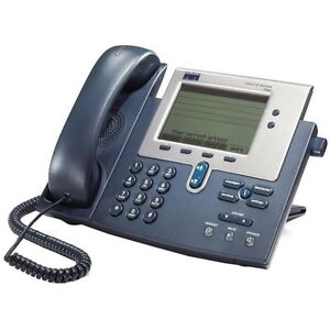Cisco Systems Cp 7940g Ip Phone Voip Telephone Handset Cord Poe
