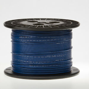 18 Awg Gauge Solid Hook Up Wire Blue 250 Ft 0 0403 Ul1007 300 Volts