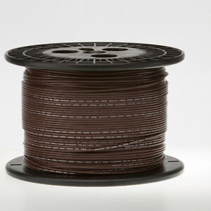18 Awg Gauge Stranded Hook Up Wire Brown 250 Ft 0 0403 Ul1007 300 Volts