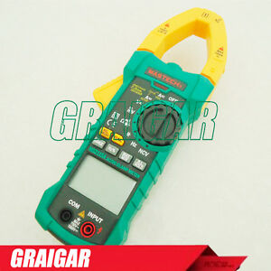 Mastech Ms2115a Digital Dc Ac Clamp Multimeter True Rms Tester 1000a