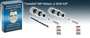 Transgo Shift Kit Allison Jr Transmission 2005 2010 Duramax Allison 6 Speed