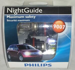 New Philips Nightguide Night Guide 9007 Ngs2 12v 2 Pack