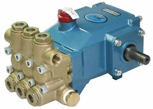 Cat Belt Drive Pressure Pump 3cp1140 2200 Psi 16 5mm Shaft W Plumbing