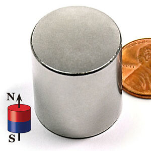 Cms Magnetics 10 Pieces Super Strong Neodymium Magnets N52 7 8x1