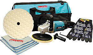 Makita 9237cx2 7 Premium Variable Electric Polisher And Sander Kit With Carry