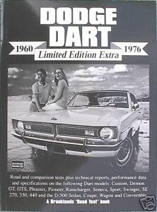 Dodge Dart 1960 1976 Limited Edition Extra