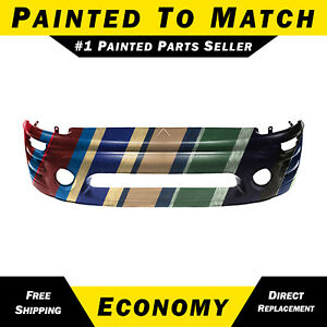Painted To Match Front Bumper Cover For 2002 2003 2004 2005 Mitsubishi Eclipse