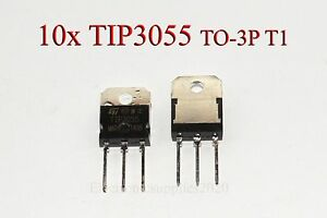 Tip3055 3055 Transistor Npn 60v 15a New Good Quality T1 New Usa Shipping