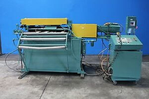 Rowe Servo Coil Feeder 40 X 0 080 Punch Press Coil Feed Stamping Feeder