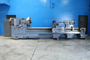 Poreba Oil Field 12 Hollow Spindle Engine Lathe 36 X 120 6372