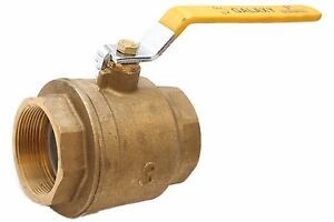 3 Full Port Brass Ball Valve