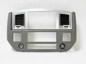 2006 2009 Dodge Ram Radio Dash Bezel Dark Khaki Mopar Genuine Oem New