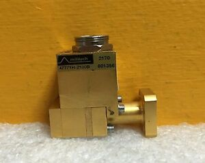 Millitech hughes 47771h 2100b wr 28 26 5 To 40 Ghz Waveguide Power Sensor