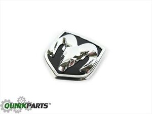 07 12 Dodge Caliber Rams Head Emblem Badge For Rear Liftgate Handle Oe New Mopar
