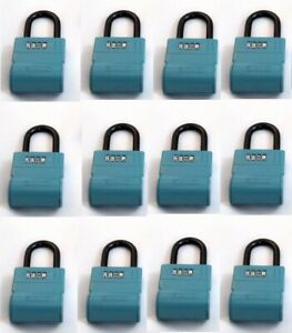 12 Realtor Real Estate 4 Digit Lockboxes Key Safe Shurlok Lock Box Key Boxes
