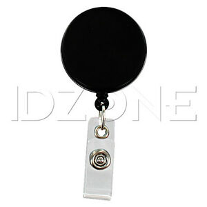 Qty 100 New 1 5 Heavy Duty Badge Reels W Nylon Cord 2120 3310