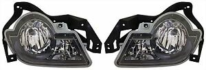 Set Of 2 Chevy Avalanche 02 06 Driving Fog Lights Lamps Pair Set Right And Left