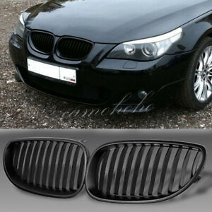 Front Black Sport Wide Kidney Grilles Grill For Bmw E60 E61 M5 5 Series 03 09