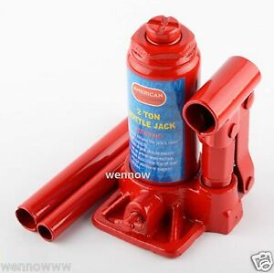 2 Ton Hydraulic Bottle Jack Car Repair Tools Red Color