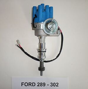 Small Block Ford 260 289 302 Blue Female Small Cap Hei Distributor Electronic
