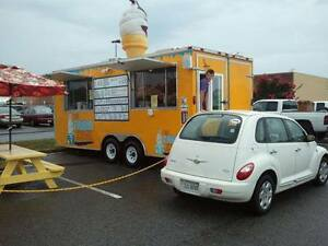 Soft Serve Ice Cream Trailer For Sale