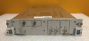 Agilent Hp J1421a Vxi Spectralber Series 10 Gb s Clock Source Tested