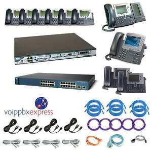 The Ten Enhanced 10 Cisco Ip Phone Voip Pbx System