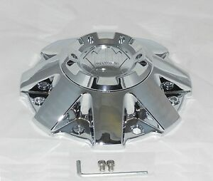 New Mayhem Chrome Wheel Rim Center Cap C806802 1cap Twg C108010c C108010c01 Twg