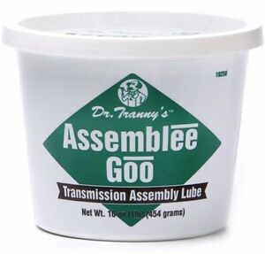 Transmission Rebuild Assembly Lube Grease Dr Tranny Green Firm Style Goo Gel