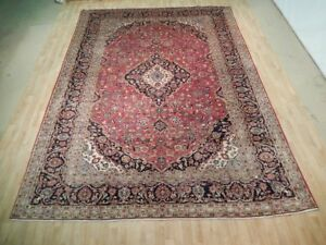 Oriental Hand Knotted 10 X 13 Persian Rugs Discount Prices Kashanrug