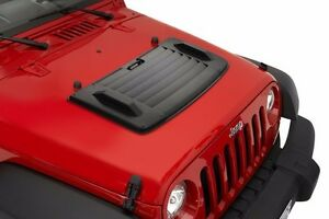 Bestop Hood Applique 2007 2017 Jeep Wrangler Jk Jku 81713 01 Black