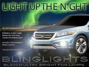 2013 2014 Honda Crosstour Xenon Fog Lamps Driving Lights Kit