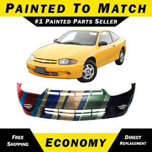 New Painted To Match Front Bumper Cover For 2003 2005 Chevrolet Chevy Cavalier