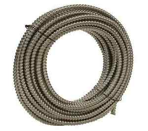 100 Southwire Metal Flex Flexible 1 2 Conduit 13mm 0 5 Electrical Wire Tubing