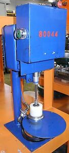 Rieke Spout Crimping Machine Crimper Model Iafs 600 05 Parker Pnuematic System