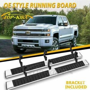 Fit 07 18 Chevrolet Tahoe 6 Nerf Bar Side Bar Running Board Side Step Chrome H