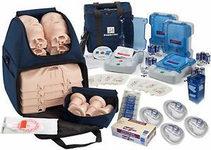 Cpr Training Kit W Prestan Ultralite Manikins Aed Trainers Training Acc