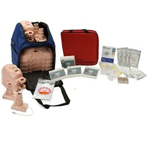 Cpr Training Kit W Prestan Ultralite Manikins W Feedback Wnl Aed Trainers